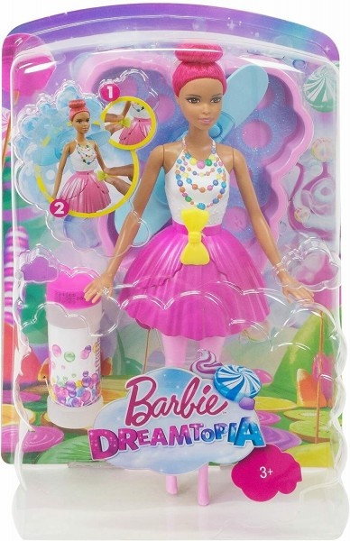 MATTEL Barbie Dreamtopia Bubbletastic Fairy Puppe