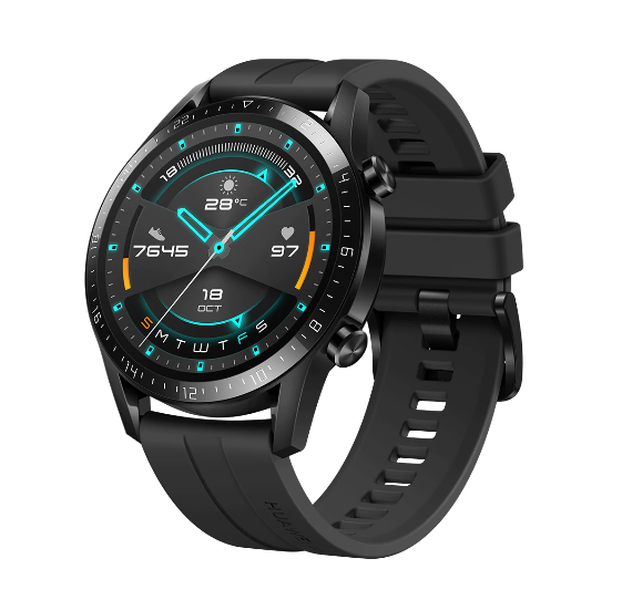 Huawei Watch GT 2 Sport Edition 46mm, Metall, Kunststoff