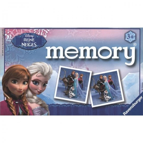 RAVENSBURGER Disney La Rein des Neiges Memory